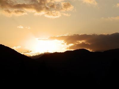 11月16日「日の出」