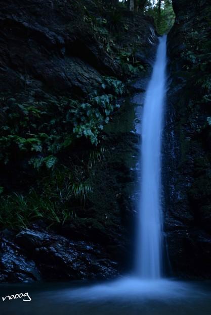 写真: 宿谷の滝