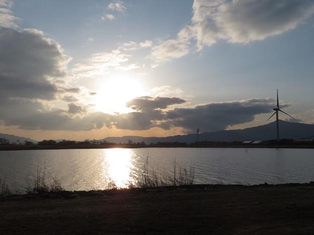 Photos: 冬の夕日