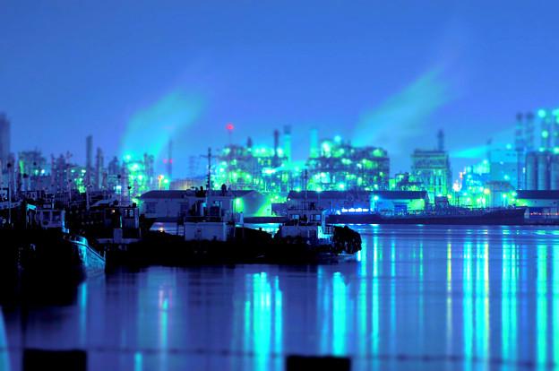 写真: 千鳥運河に魔法をかけて♪