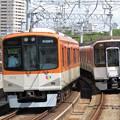 写真: 阪神9300系+近鉄9820系