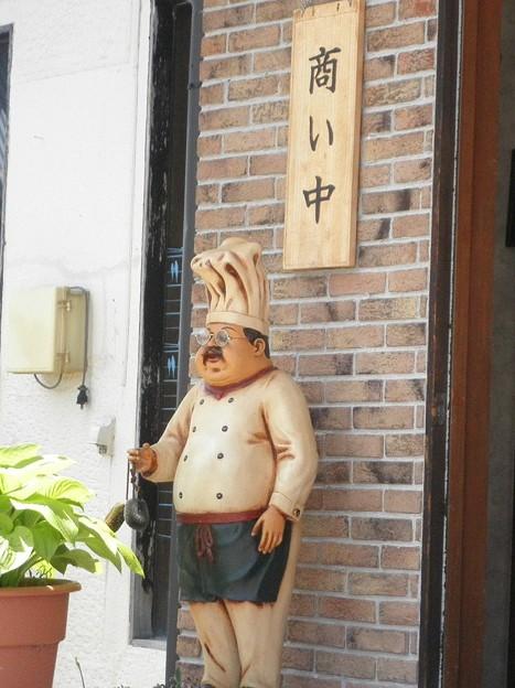 メタボ像~白馬村
