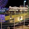 浮き桟橋の風
