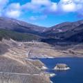 山の中の太陽光発電所1