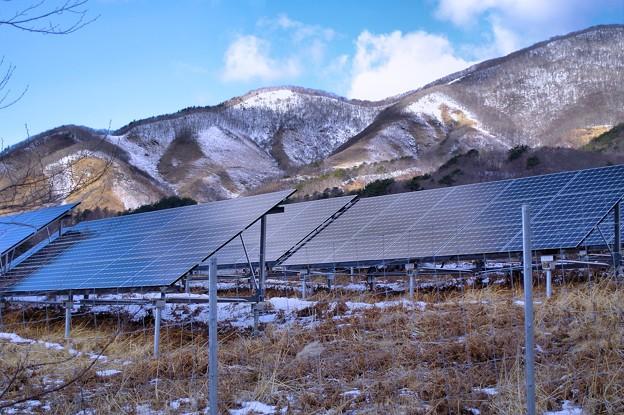 Photos: 山の中の太陽光発電所2