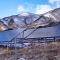 山の中の太陽光発電所2