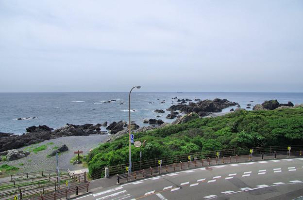 Photos: 海沿いのカーブ/室戸岬