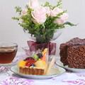 写真: 結婚記念ケーキ