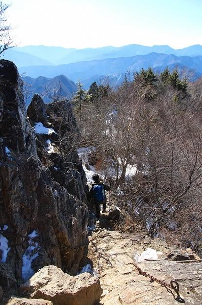 登りおさめ、両神山へ。