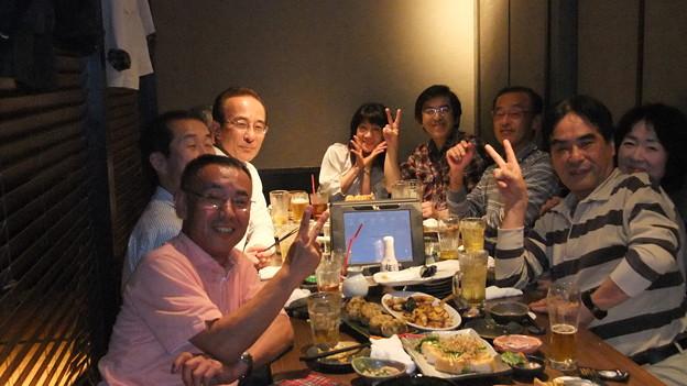 1次会@寧々屋 (3)大テーブル