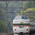 Photos: 新緑の「かいじ」
