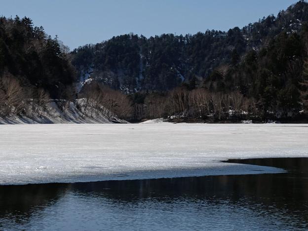 結氷融解、冬から春へ