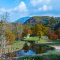 写真: 紅葉の福原山荘