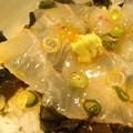 写真: @yajibanana 東急でしたー♪結構厚い鯛の切り身なのに、ご飯や敷いてある...