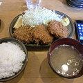 Photos: とんかつはららき円山店 メンチカツ定食