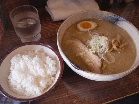 らーめん空 味噌+ライス