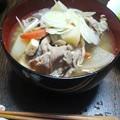 写真: 作った豚汁(*´∀`*) ...