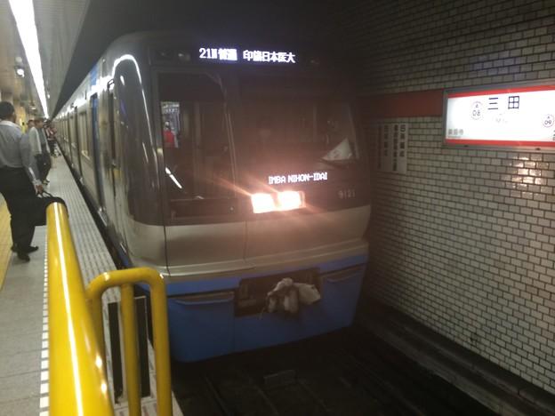 北総9100形9121F(C-Flyer) 1521N普通印旛日本医大行き