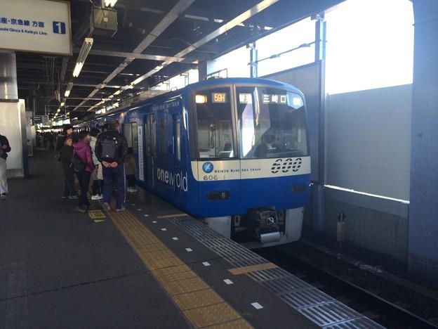 京急600形606F BLUESKYTRAIN 1458H普通三崎口行き