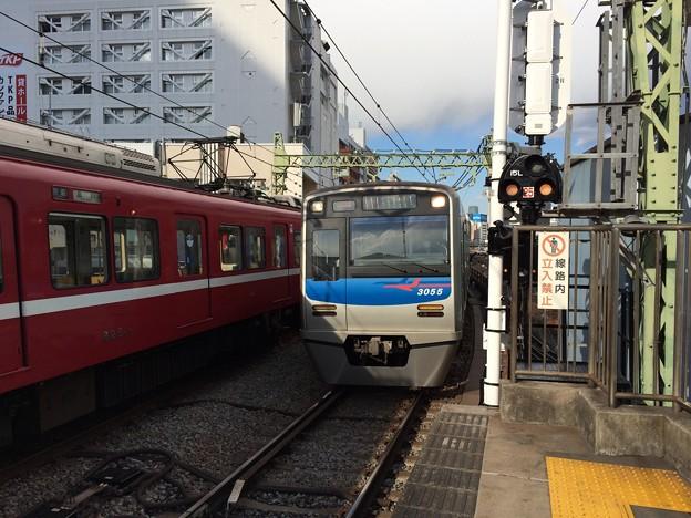 京成3050形3055F 1204K士快特羽田空港行き