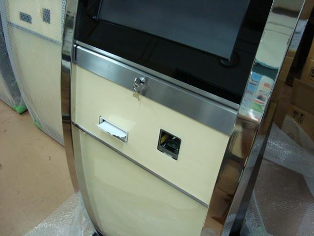 プリンター付きタッチパネル液晶端末