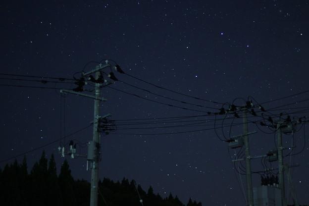 写真: 星空