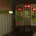 都営新宿線岩本町駅4番線 都営10-240F各停本八幡行き前方確認