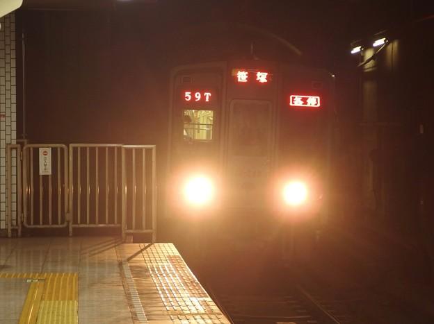都営新宿線小川町駅3番線 都営10-240F各停笹塚行き進入(1)