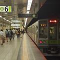 都営新宿線九段下駅6番線 都営10-280F各停本八幡行き前方確認