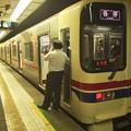Photos: 京王新線初台駅2番線 京王9042F各停本八幡行き