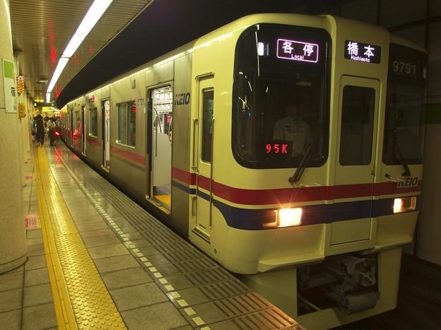 都営新宿線篠崎駅1番線 京王9041各停橋本行き