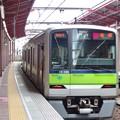 Photos: 都営新宿線船堀駅1番線 都営10-380F急行笹塚行き前方確認(2)