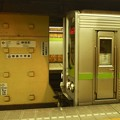 都営新宿線神保町駅2番線 都営10-230F乗務員扉