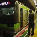 都営新宿線篠崎駅1番線 都営10-610F各停調布行き側面よし