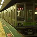 Photos: 都営新宿線本八幡駅1番線 都営10-280F回送大島行き消灯中
