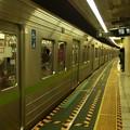 都営新宿線篠崎駅2番線 都営10-270F各停本八幡行き進入(2)