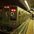 都営新宿線篠崎駅2番線 都営10-270F各停本八幡行き停止位置よし