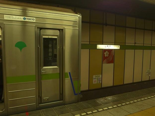 都営新宿線瑞江駅2番線 都営10-280F各停本八幡行き(2)