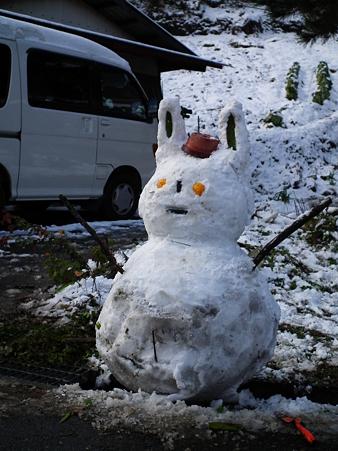 雪だるま featuring Rabit.