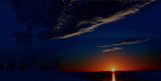 写真: may-sunset