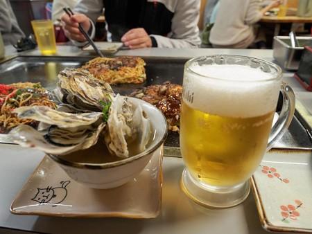 ビールと味噌汁最高!!