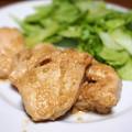 写真: 鶏肉の味噌焼き