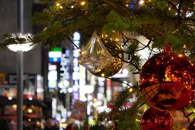 歌舞伎町のXmasツリー