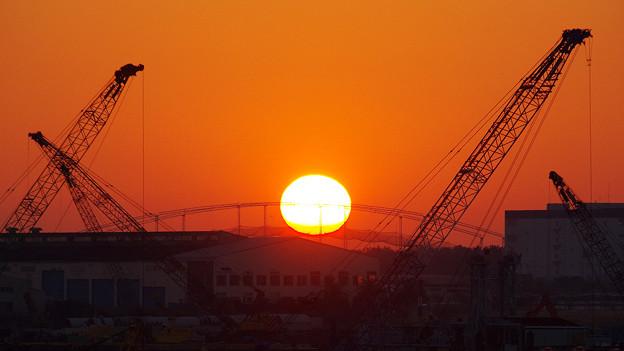 Photos: 東雲にて