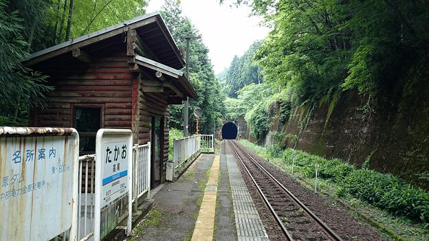 樽見鉄道・高尾駅(10)