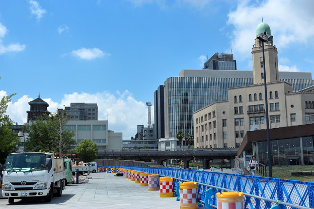 横浜三塔の見える場所
