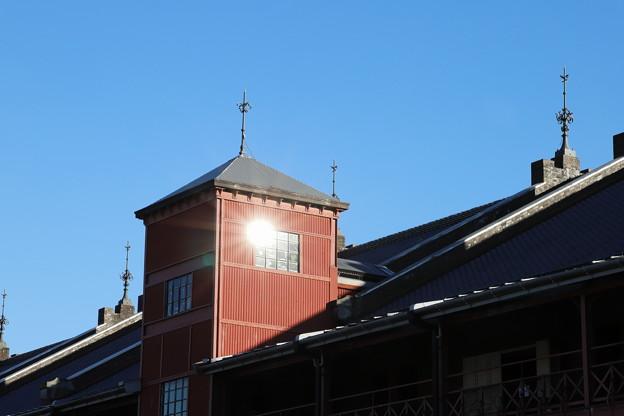 写真: 赤レンガ倉庫キラリ☆