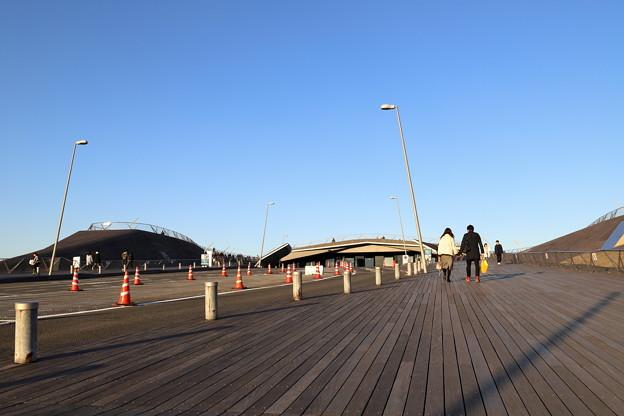 大さん橋の入り口