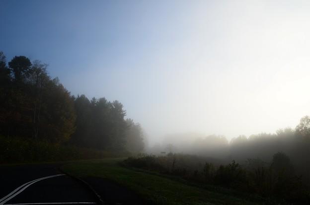 写真: Driving in the Mist 10-14-17