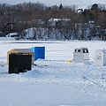 写真: Ice Shacks 1-24-10